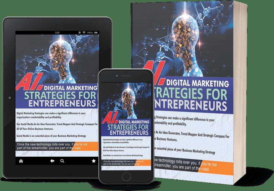 Miracle Ayanfe, Author Ai Digital marketing strategies for entrepreneurs
